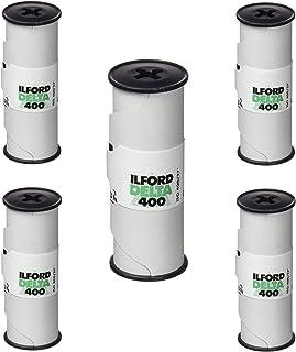 5 Rolls Ilford Delta 400 120 Film