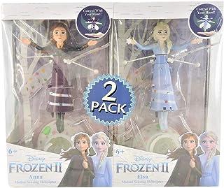 World Tech Toys Disney Frozen II Anna & Elsa Motion Sensing Helicopter