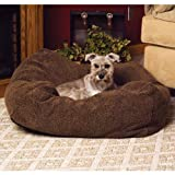 K&H Pet Products Cuddle Cube Pet Bed Small Mocha 24' x 24'