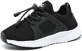KAOTE Boy Running Shoes Lightweight Breathable Athletic Girls Sports Sneaker
