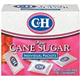 C&H, Cane Sugar, Sugar Packets, 12.5oz Box (Pack of 2)