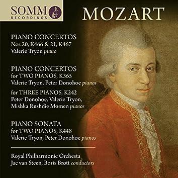 Mozart: Piano Concertos, K. 242, 365, 466 & 467