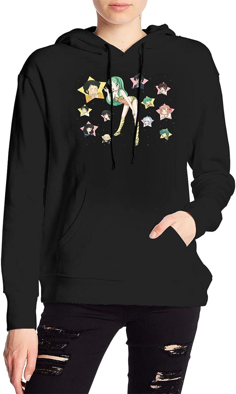 Urusei Yatsura Sweater Novelty Hooded With Pocket For Men Women