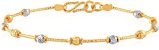 Malabar Gold and Diamonds 22k (916) Two Colour Gold Bangle for Women