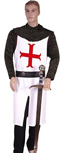 Medieval Factory Templar AnchGoldt Cross Model Tabard