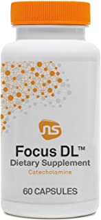 Sponsored Ad - NeuroScience Focus DL - Promote Memory, Focus, Concentration + Attention with 1000mg DL-Phenylalanine - Bra...