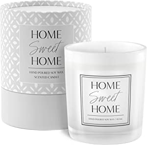 Home Sweet Home Candle | Housewarming Gift with Gift-Ready Packaging | House Warming Presents for New Home | New Home Gifts for Home | Housewarming Gifts for Women | New Home Gifts | New Home Candle