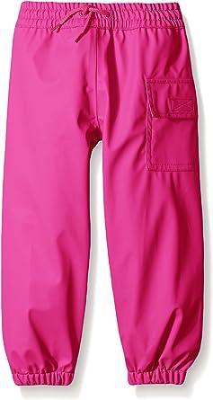 Hatley Kids Classic Fuscia Splash Pants