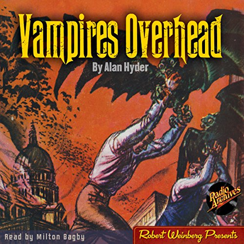 Vampires Overhead audiobook cover art