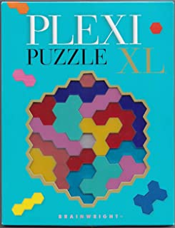 Gamewright Plexi XL Puzzle Brain Teaser, Multi/Colored, 5""
