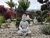 Green Lane Garden Decoración de jardín Estatua de Adorno - Gautama Buda meditando