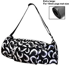 """YogaAddict Large Yoga Mat Bag and Carriers Compact with Pockets, 28""""x8"""" & 29""""x11"""" Long, Fit Most Mat Size, Extra Wide, Adjustable Strap, Easy Access"""