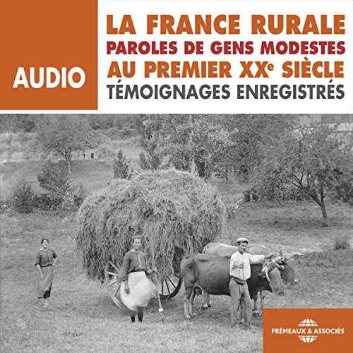 Couverture de La France rurale au premier XXe siècle
