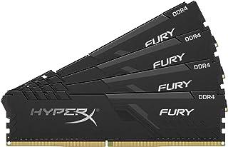 キングストン Kingston デスクトップPC用メモリ DDR4 2666MHz 16GBx4枚 HyperX FURY CL16 HX426C16FB3K4/64 永久保証x2