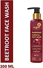 Aegte Beetroot Hydrating Face Wash with Raw Honey and Aloe Vera 200ml