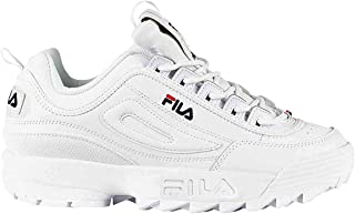 white filas womens