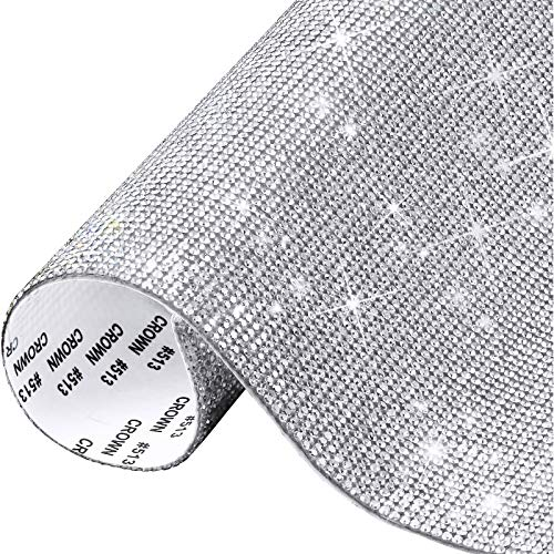 Pegatinas de Diamantes de Cristal 2mm Brillantes para Decorar Diamantes Autoadhesivas para...
