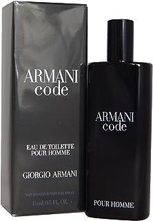 Giorgio Armani Code Eau de Toilette Spray for Men, 0.5 Ounce