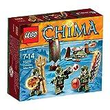 LEGO Legends of Chima - Juguete Chima Pack de la Tribu del cocodrilo (70231)