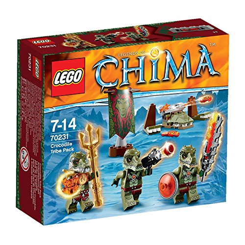 LEGO Legends of Chima 70231 - Krokodilstamm-Set