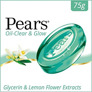 Pears Oil Clear and Glow Soap Bar 75 g - Pack of 3