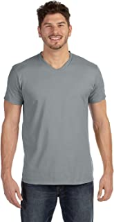 Hanes Mens Ringspun Cotton Nano-T V-Neck T-Shirt (498V)