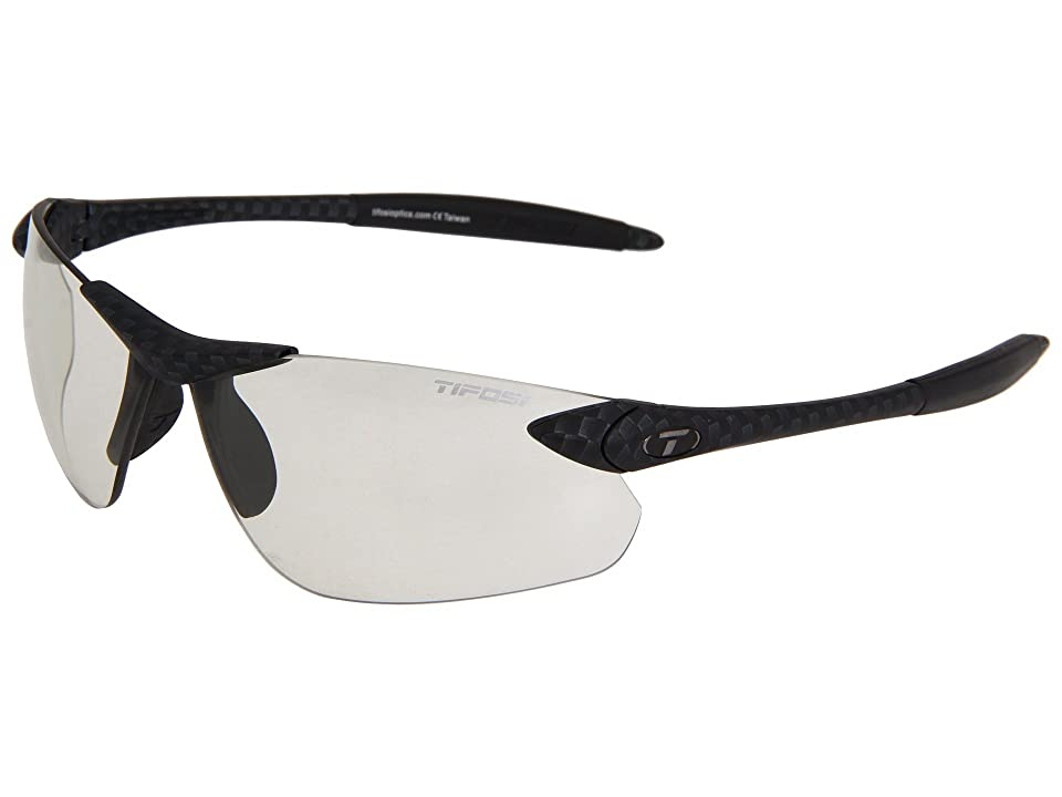 Tifosi Optics Seektm Fototectm FC Light Night (Carbon/ Light Night Fototec Lens) Athletic Performance Sport Sunglasses