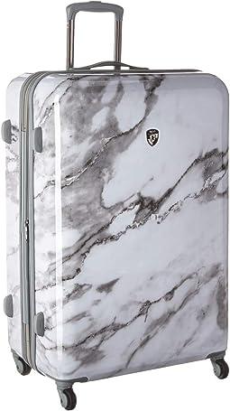 "Carrara Marble 30"" Spinner"
