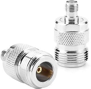 Test Converter RF Adapter Type N naar SMA Adapter Coaxiale Connector Kit 2 stuks SMA Vrouw voor CCTV met Impedantie 50Ω vo...