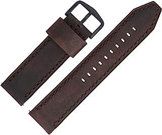 Fossil LB-FS5251SET Bracelet de montre en cuir bicolore 22 mm