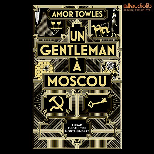 Un gentleman à Moscou cover art