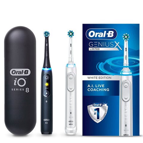Up to 50% off Oral-B powered toothbrushes and replacement heads