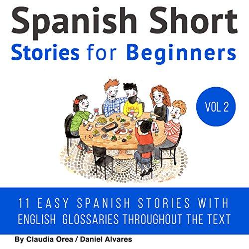 Spanish: Short Stories for Beginners audiobook cover art