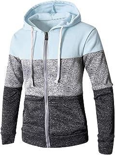 IFOUNDYOU Men Fashion Sweatshirts, Clearance 2019 New Casual Solid Long Sleeve Hoodie Sweatshirt Top Outwear Comfortable B...