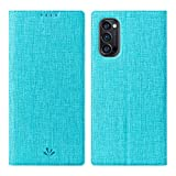 Cresee Oppo Reno4 Pro 5G Case, PU Leather Flip Folio Wallet