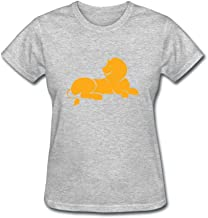 JustLikeSun Women's African Animal Lion T Shirt