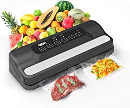 QDH Vacuum Sealer Machine, Automatic Food Sealer Machine with Built-in Cutter for Food Savers, Disassemble and Easy to Cle...