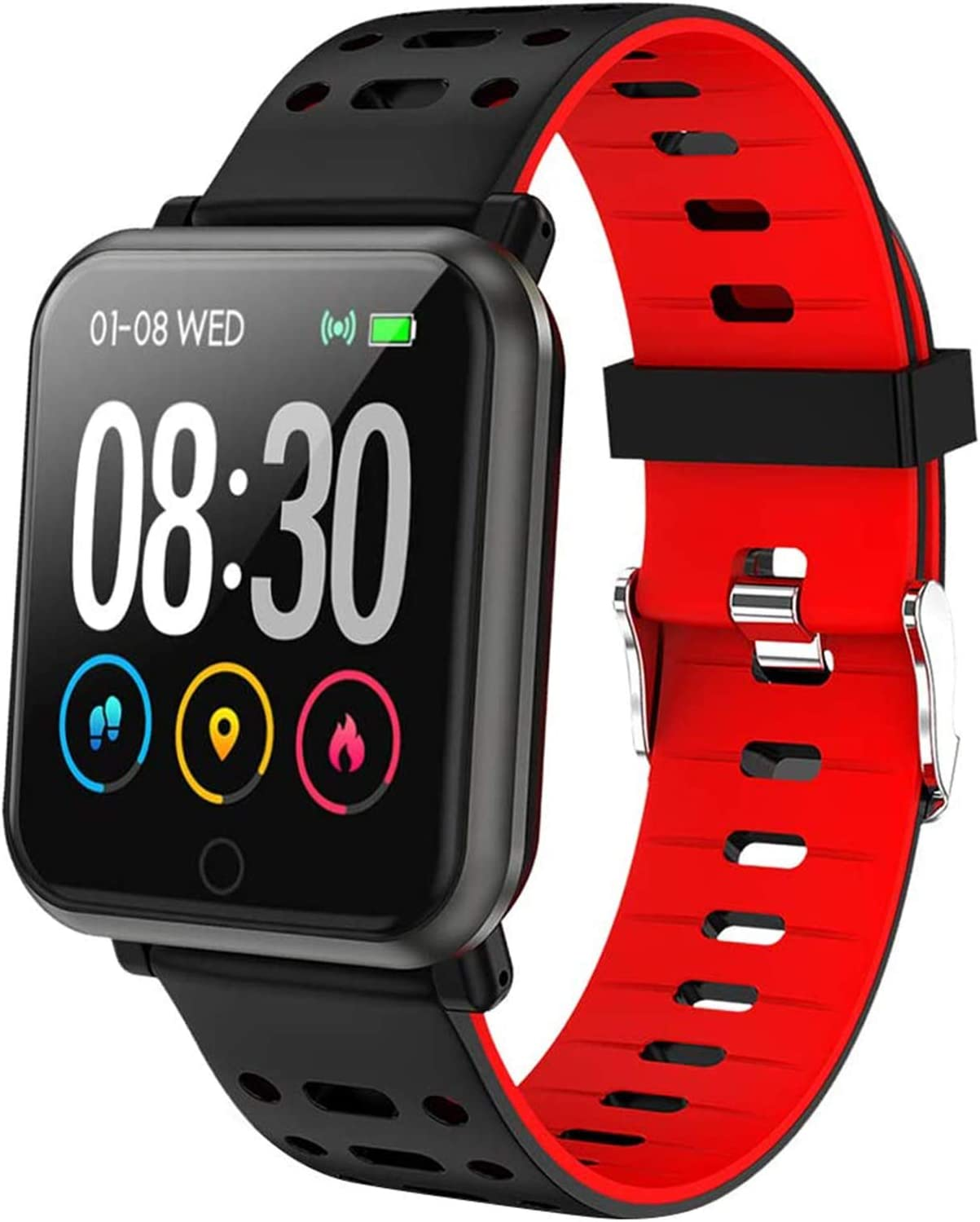 LEKOO Fitness Tracker Smart Max 48% 25% OFF OFF Watch with Fit Heart Tr Monitor Rate