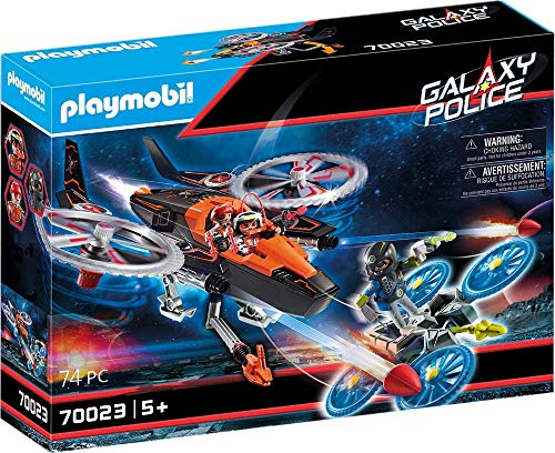 PLAYMOBIL Galaxy Police 70023 Pirates-Heli, ab 5 Jahren