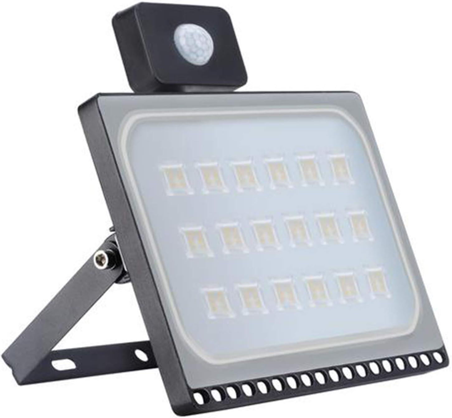 100W Motion Sensor Flood 激安通販販売 オンライン限定商品 Light LED Catinbow Ultra Thin Security