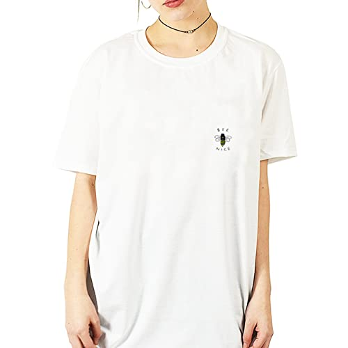 94000aaee73 Tricky Ink Bee Nice Pocket White T Shirt S M L XL 2XL Bumble Be Blogger  Hipster Tumblr