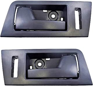 Interior Inner Inside Door Handle Black Front Left Right Pair fits Ford Escape