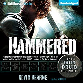 Page de couverture de Hammered