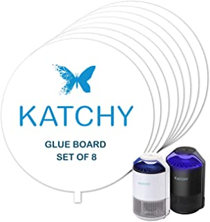 KATCHY Insect Trap Refillable Glue Boards (Set of 8)