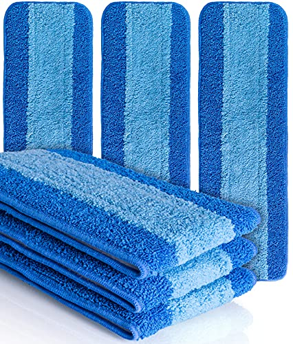 VanDuck Microfiber Cleaning Pads Compatible with Bona Mop (6 Pack)....