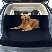 Galapara Dog Cargo Cover Liner for SUV, Dog Car Seat Covers for Back Seat SUVs/Cars/Trucks, 600D Oxford Waterproof Pet Backseat Mat Washable Protector Durable Animal Dog Accessories 132 x 99 x 43cm