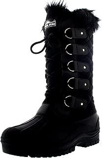 Womens Waterproof Tactical Mountain Walking Snow Knee Boots
