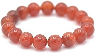 MIRACLES MINÉRAUX Bracelet perle ronde 12 mm, pierre naturelle, création artisanale française, plus de 40 choix