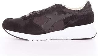 Diadora heritage, uomo, trident 90 nyl ita marroni verdi, pelle nylon, sneakers, marrone, 42.5 eu amazon shoes neri pelle