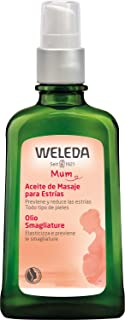 Weleda Pregnancy Body Oil for Stretch Marks, 3.4 Fluid Ounce